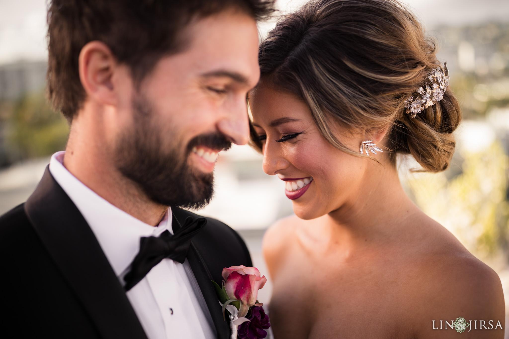 17 Kimpton La Peer Hotel West Hollywood Stylized Wedding Photography