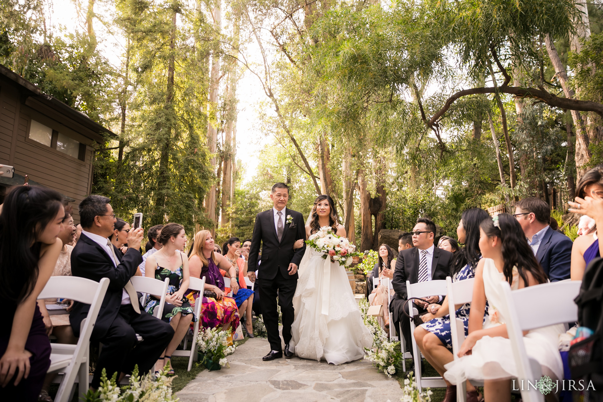 17 calamigos ranch malibu wedding ceremony photography