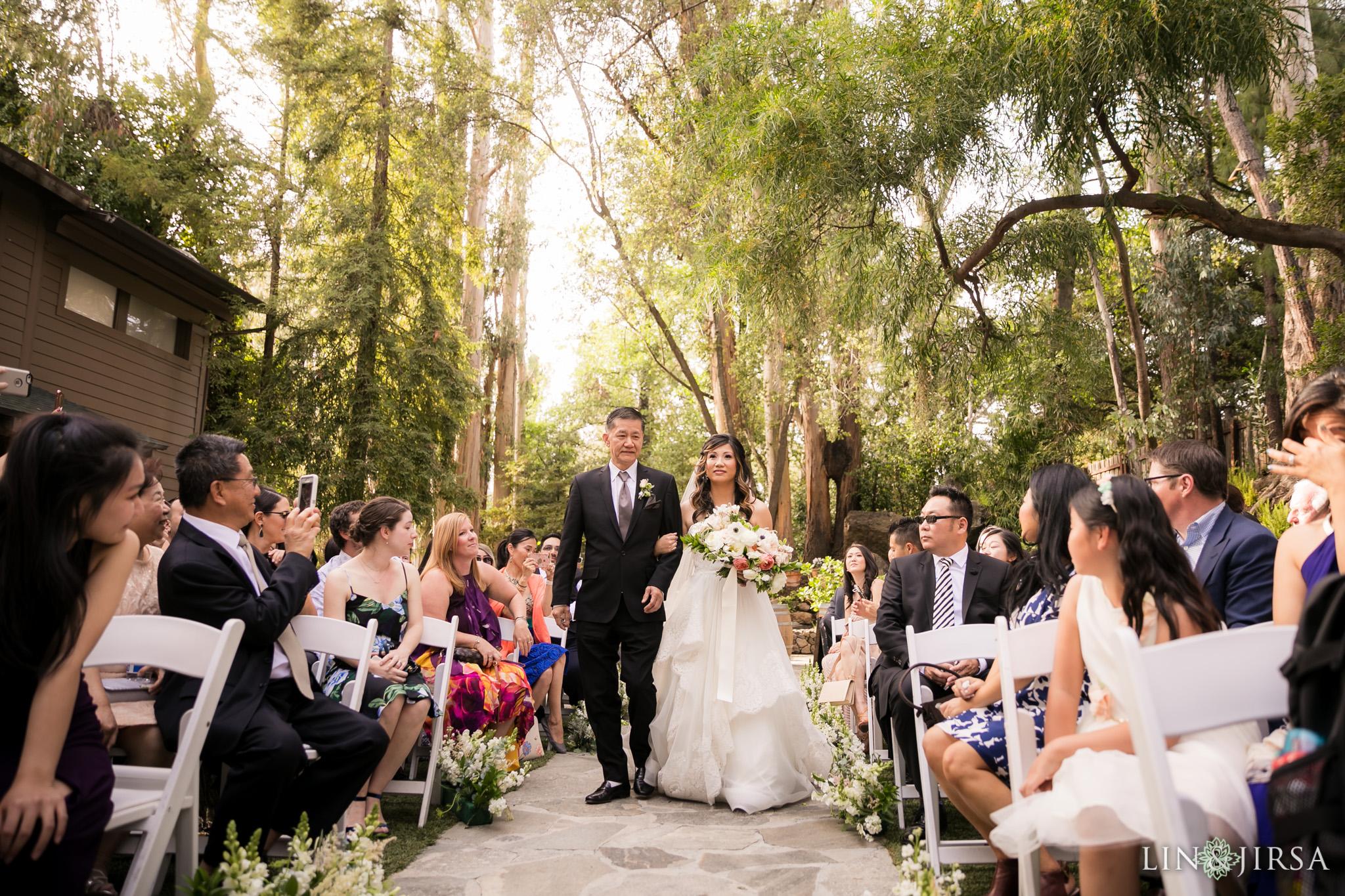17 calamigos ranch malibu wedding ceremony photography