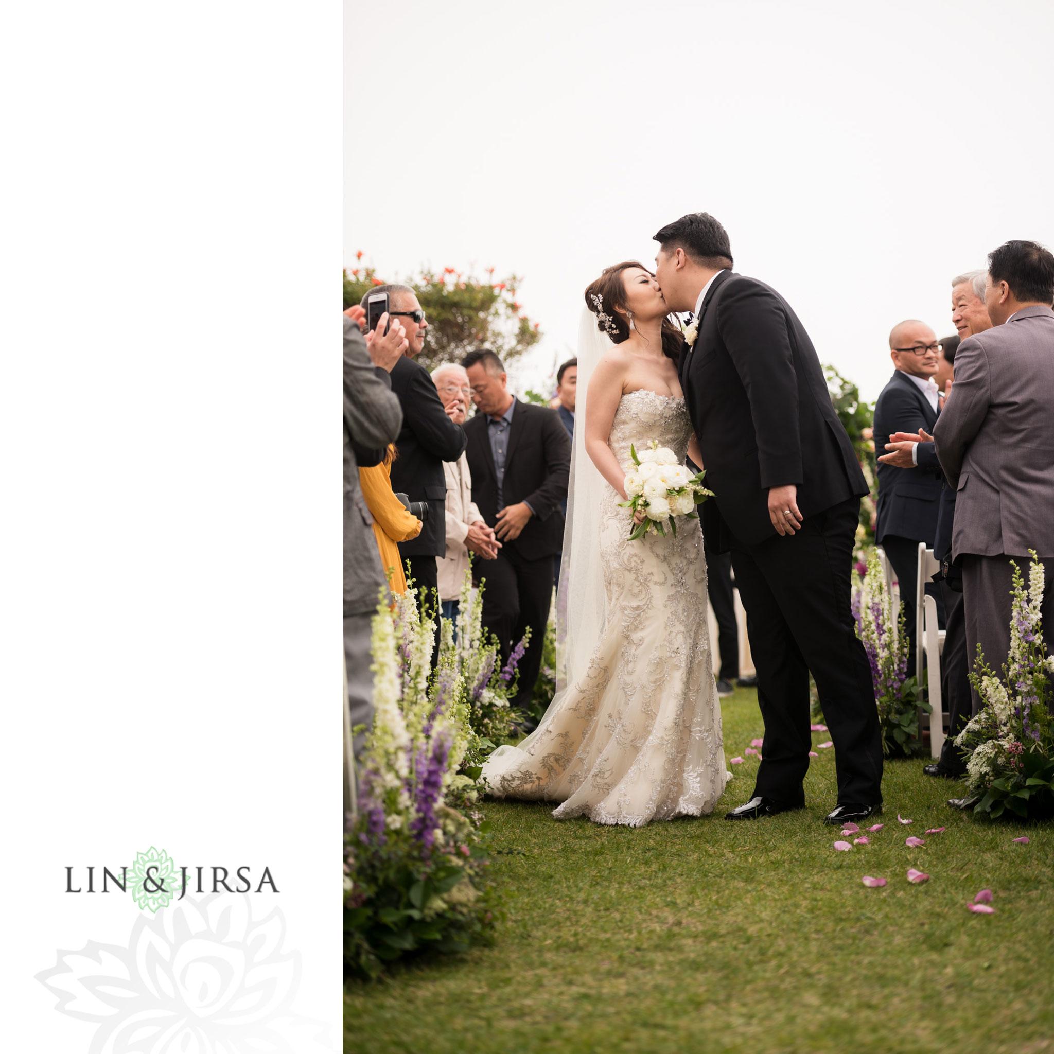18 trump national golf club rancho palos verdes wedding ceremony photography
