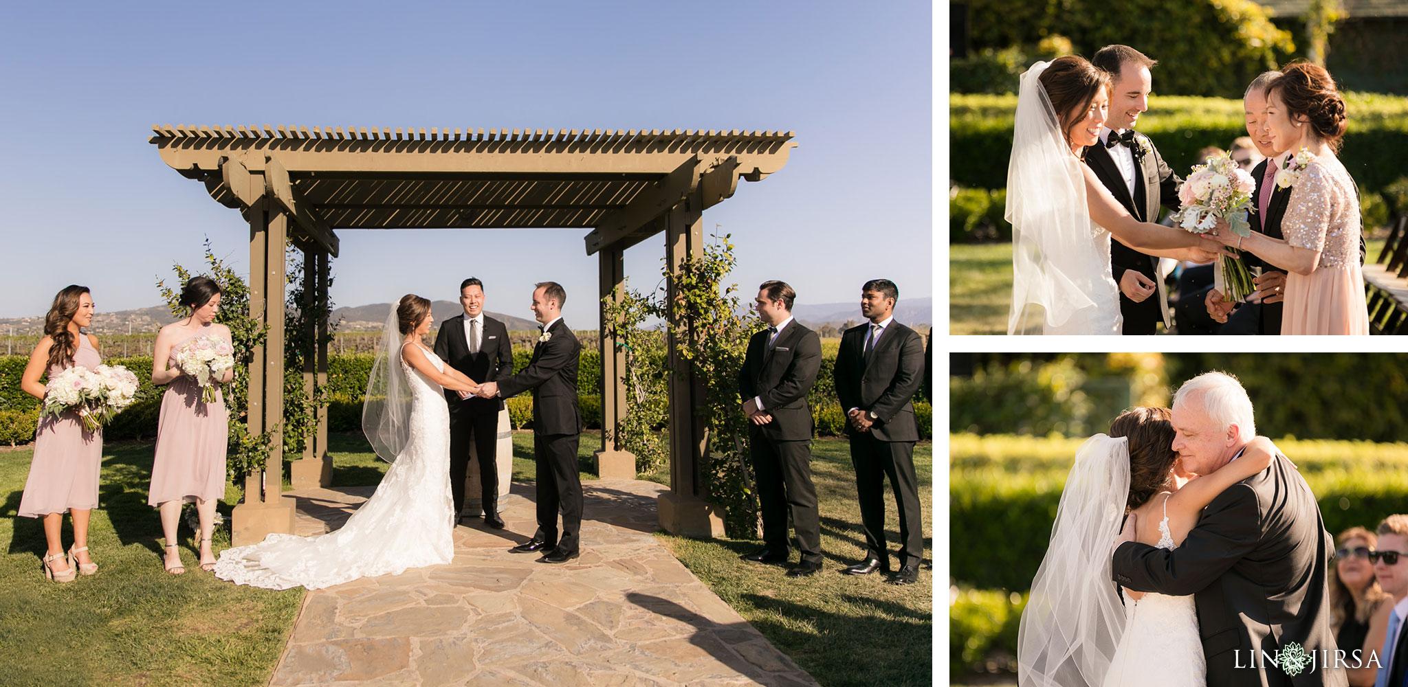 19 Ponte Winery Vineyard Garden Temecula Wedding Ceremony Photography