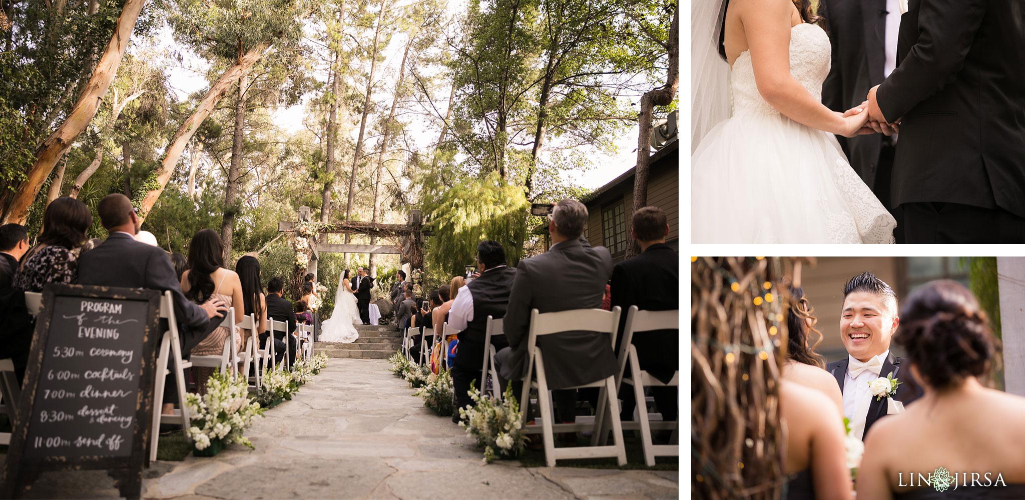 19 calamigos ranch malibu wedding ceremony photography