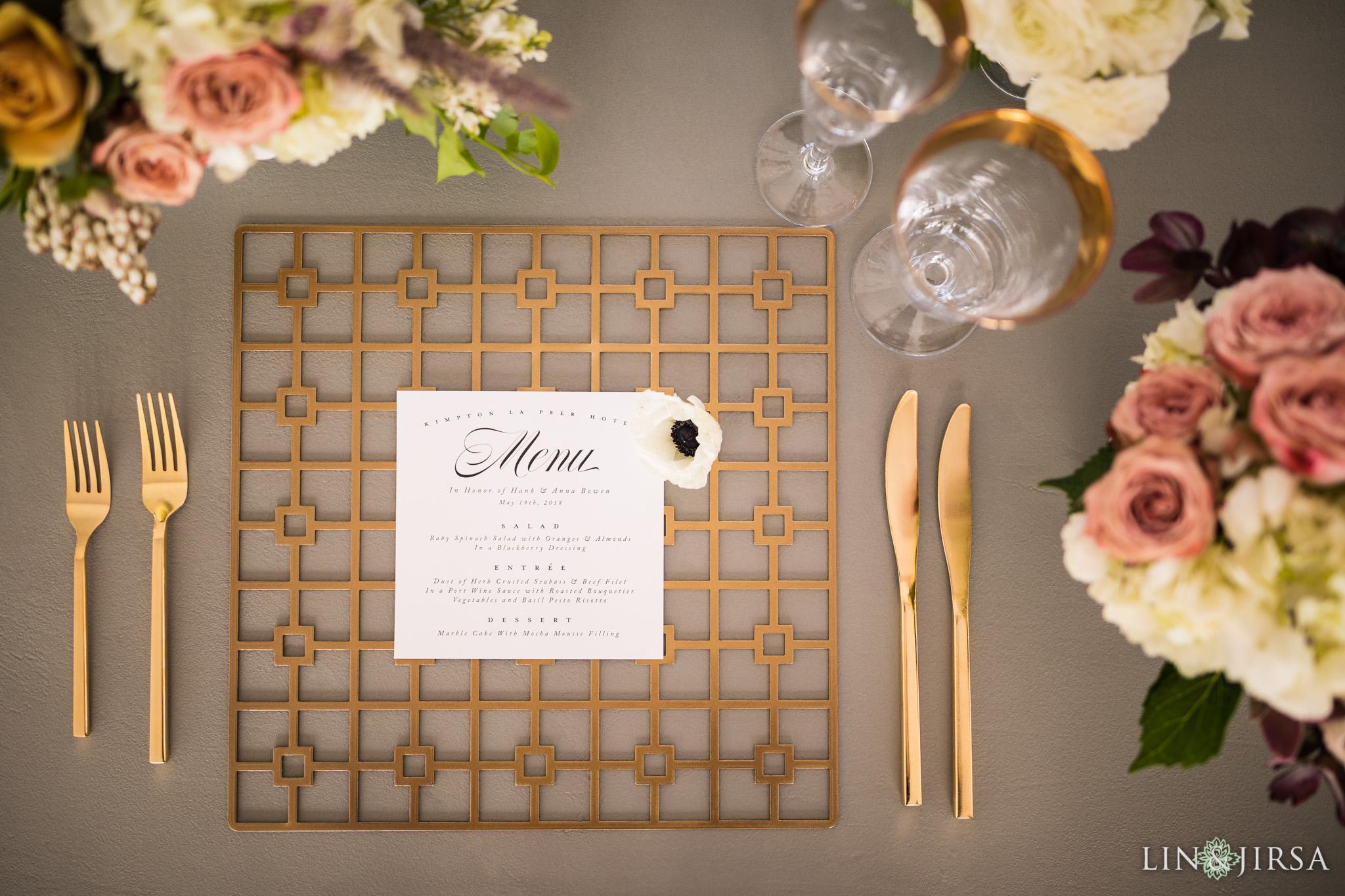 20 Kimpton La Peer Hotel West Hollywood Stylized Wedding Photography