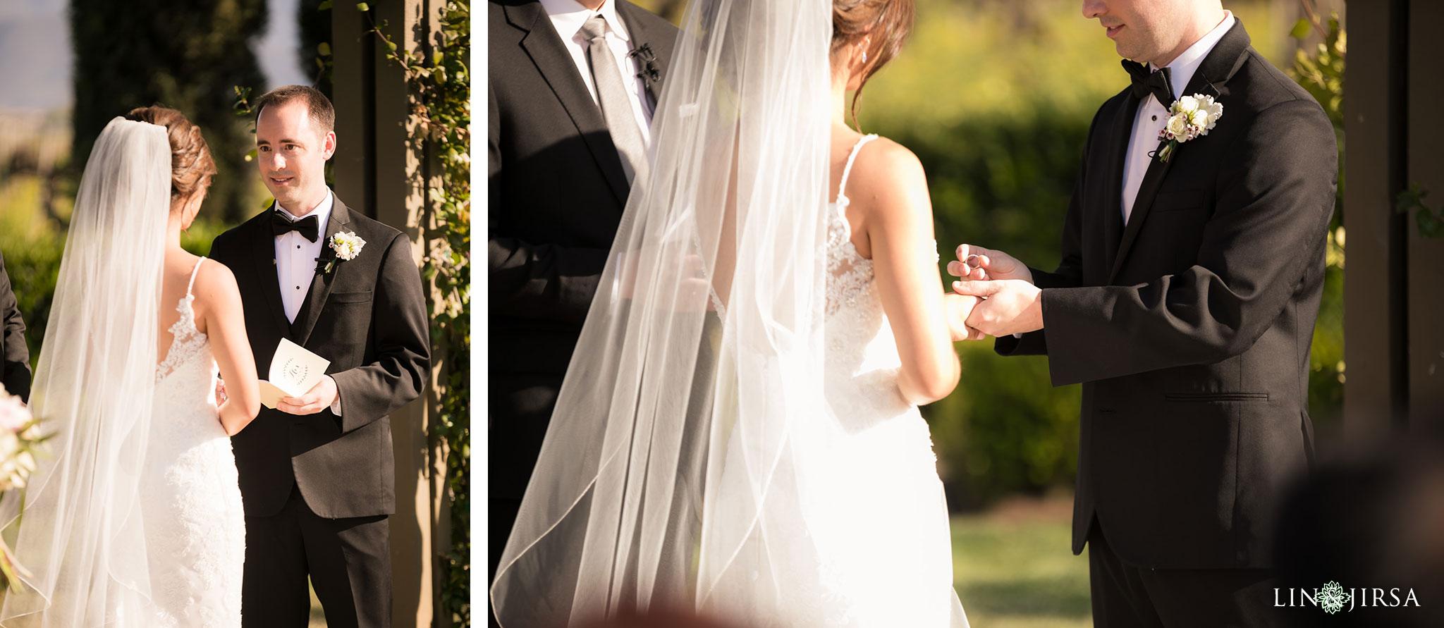 20 Ponte Winery Vineyard Garden Temecula Wedding Ceremony Photography