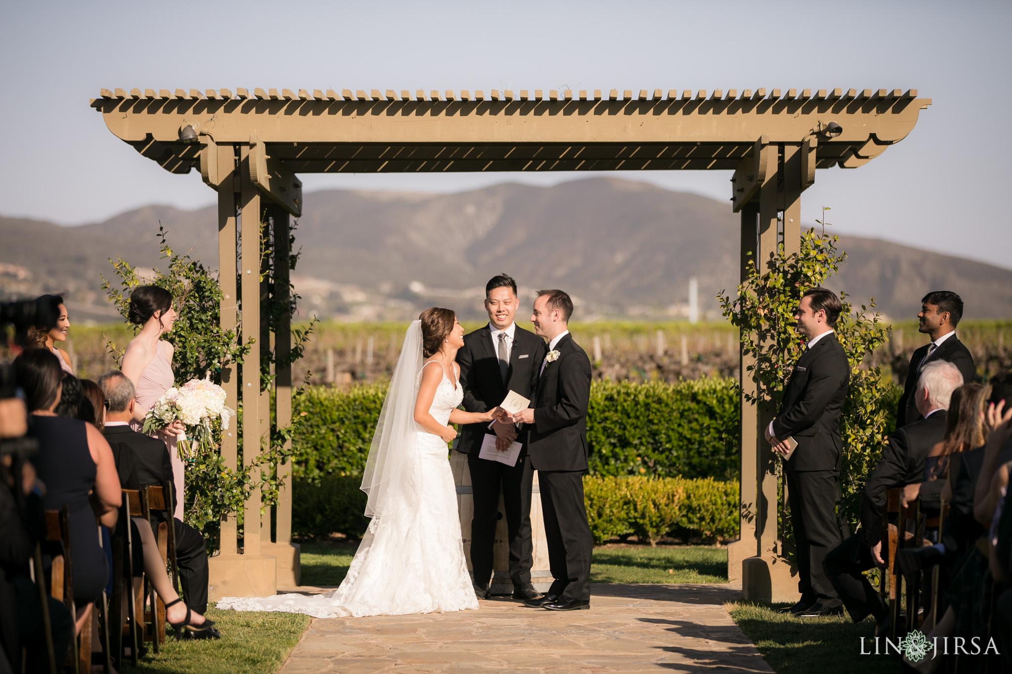 21 Ponte Winery Vineyard Garden Temecula Wedding Ceremony Photography
