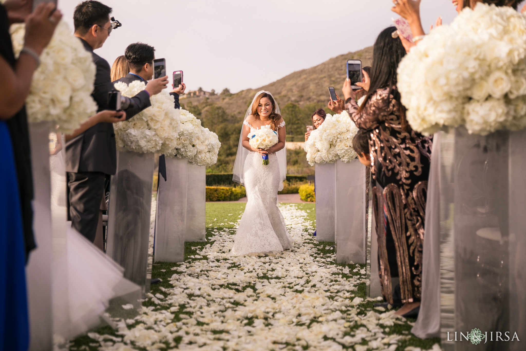 21 pelican hill resort orange county wedding ceremony photography