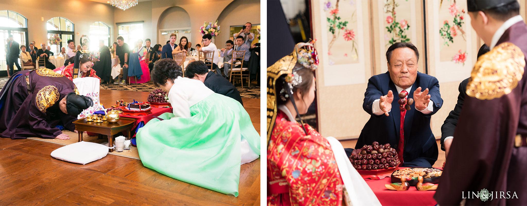 21 trump national golf club rancho palos verdes wedding tea ceremony photography