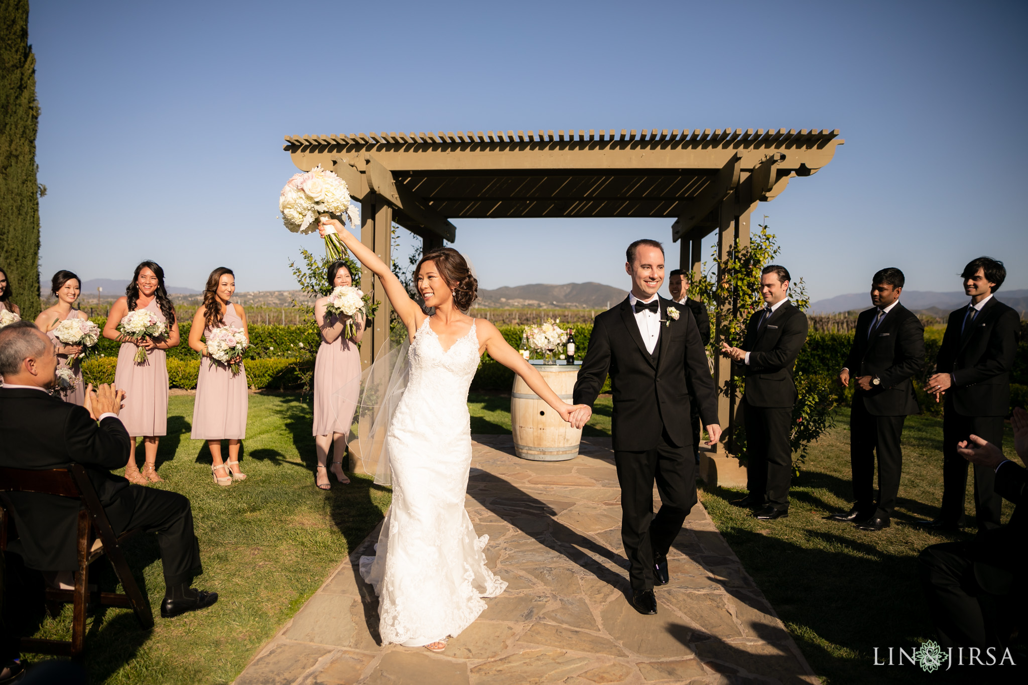 22 Ponte Winery Vineyard Garden Temecula Wedding Ceremony Photography