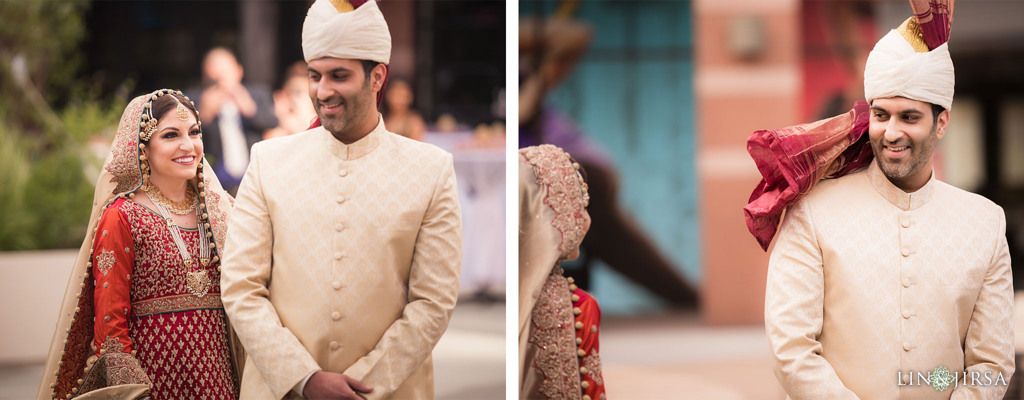 08 hilton long beach pakistani persian muslim first look wedding photography
