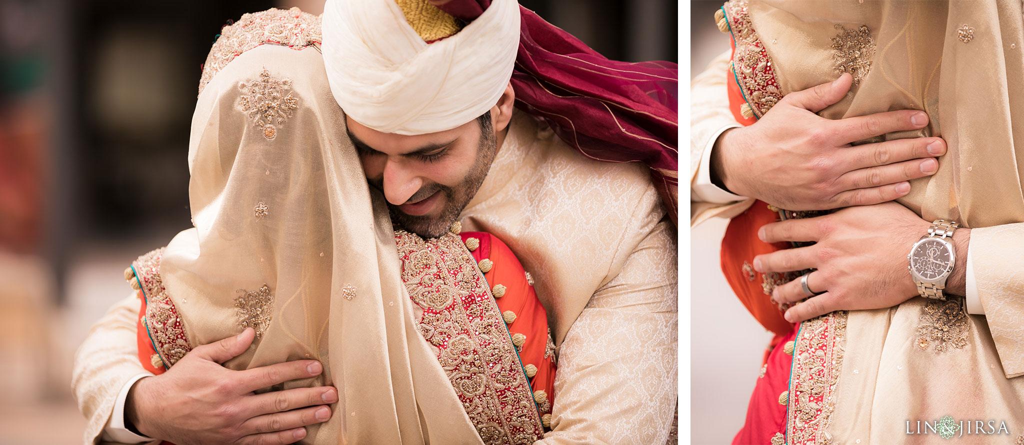 09 hilton long beach pakistani persian muslim first look wedding photography