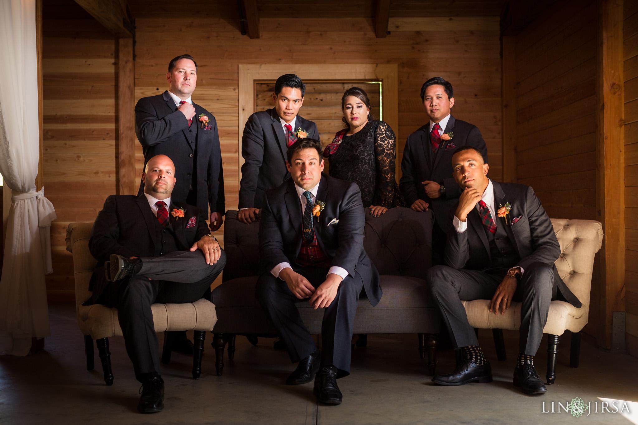 10 serendipity gardens oak glen groomsmen wedding photography