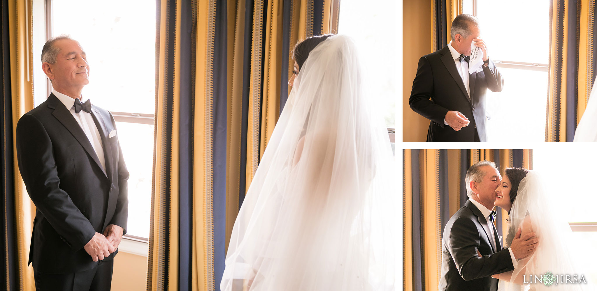 11 langham huntington pasadena father of the bride wedding photography
