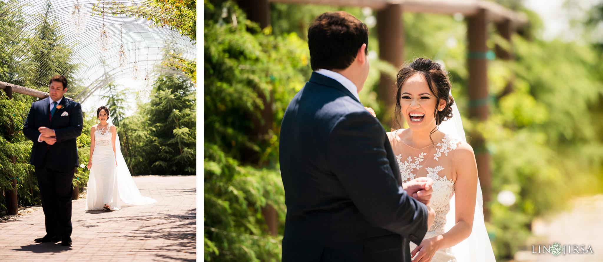 11 serendipity gardens oak glen first look wedding photography