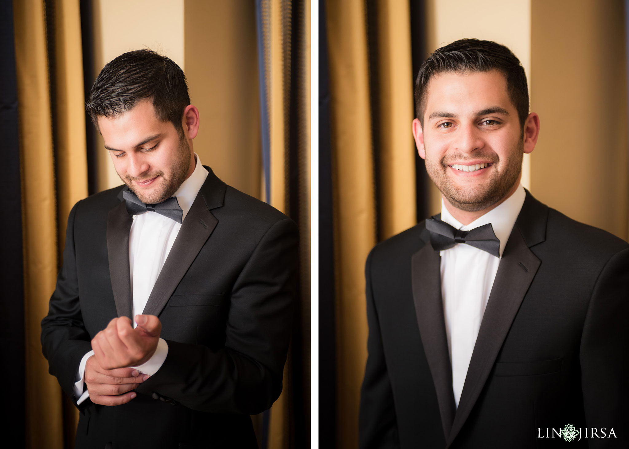 14 langham huntington pasadena groom wedding photography