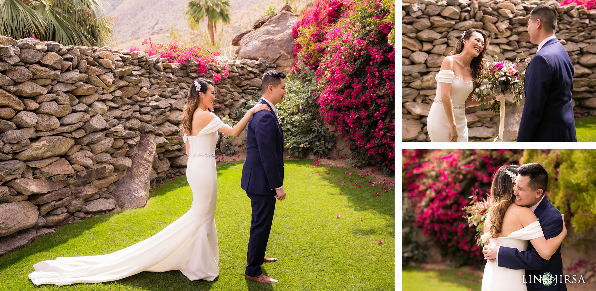 14 odonnell house palm springs first look wedding photography