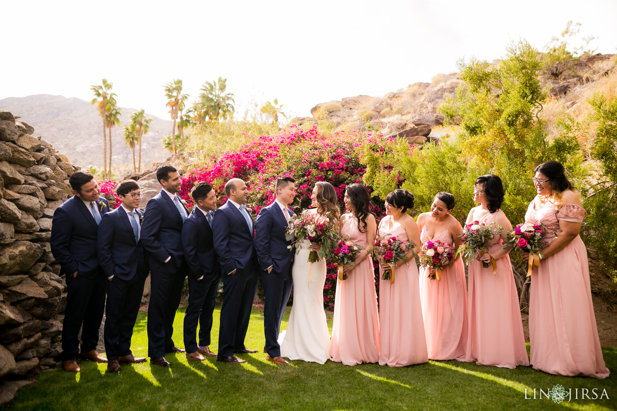 15 odonnell house palm springs wedding party photography