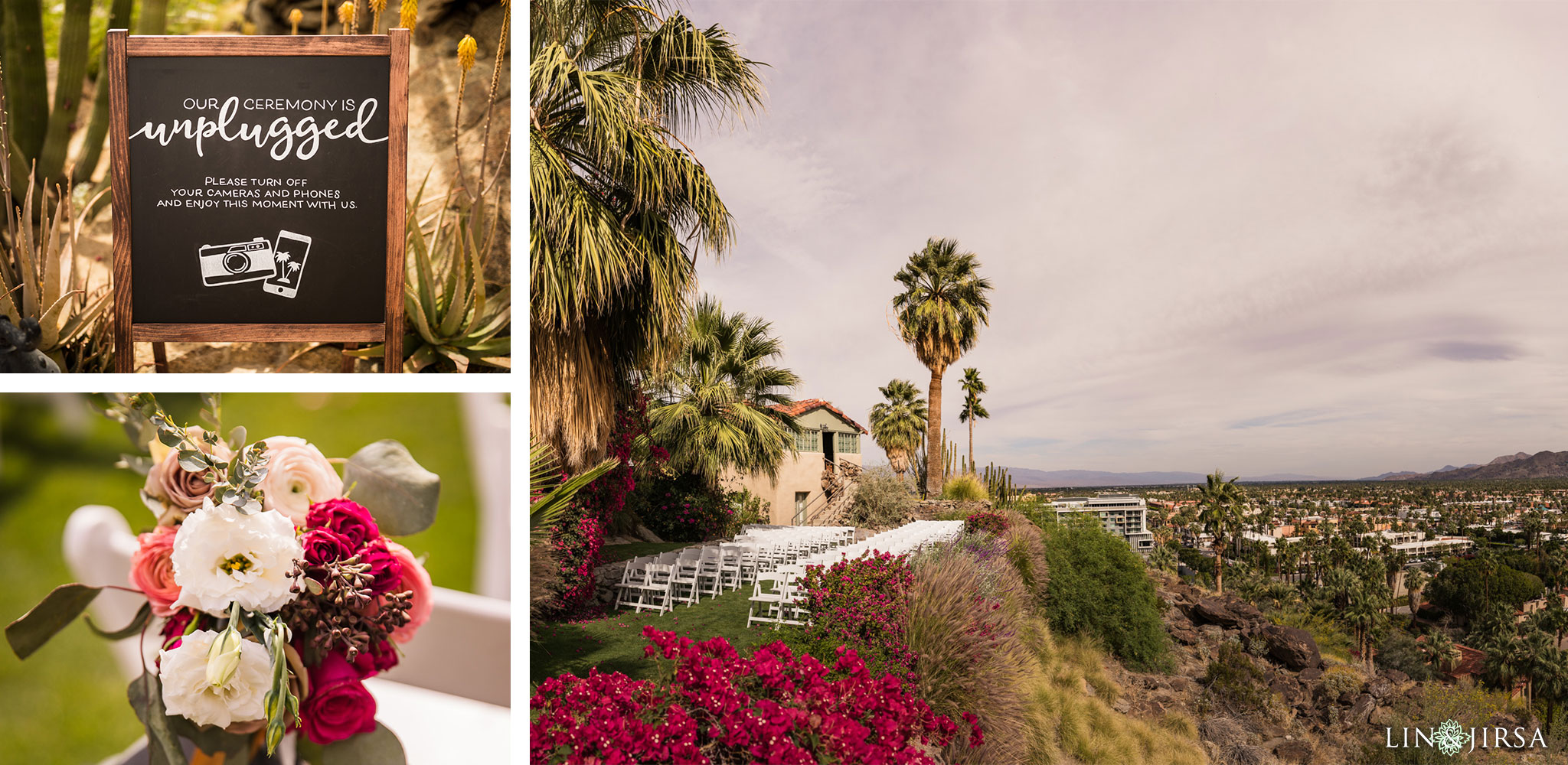 16 odonnell house palm springs wedding ceremony photography
