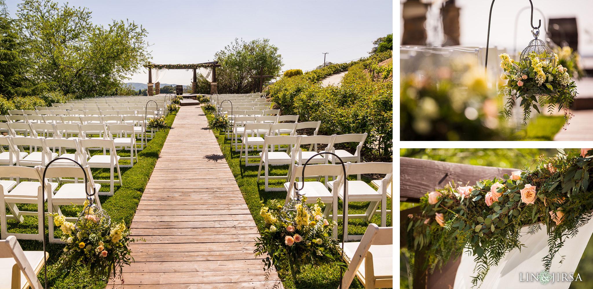 16 serendipity gardens oak glen wedding ceremony photography