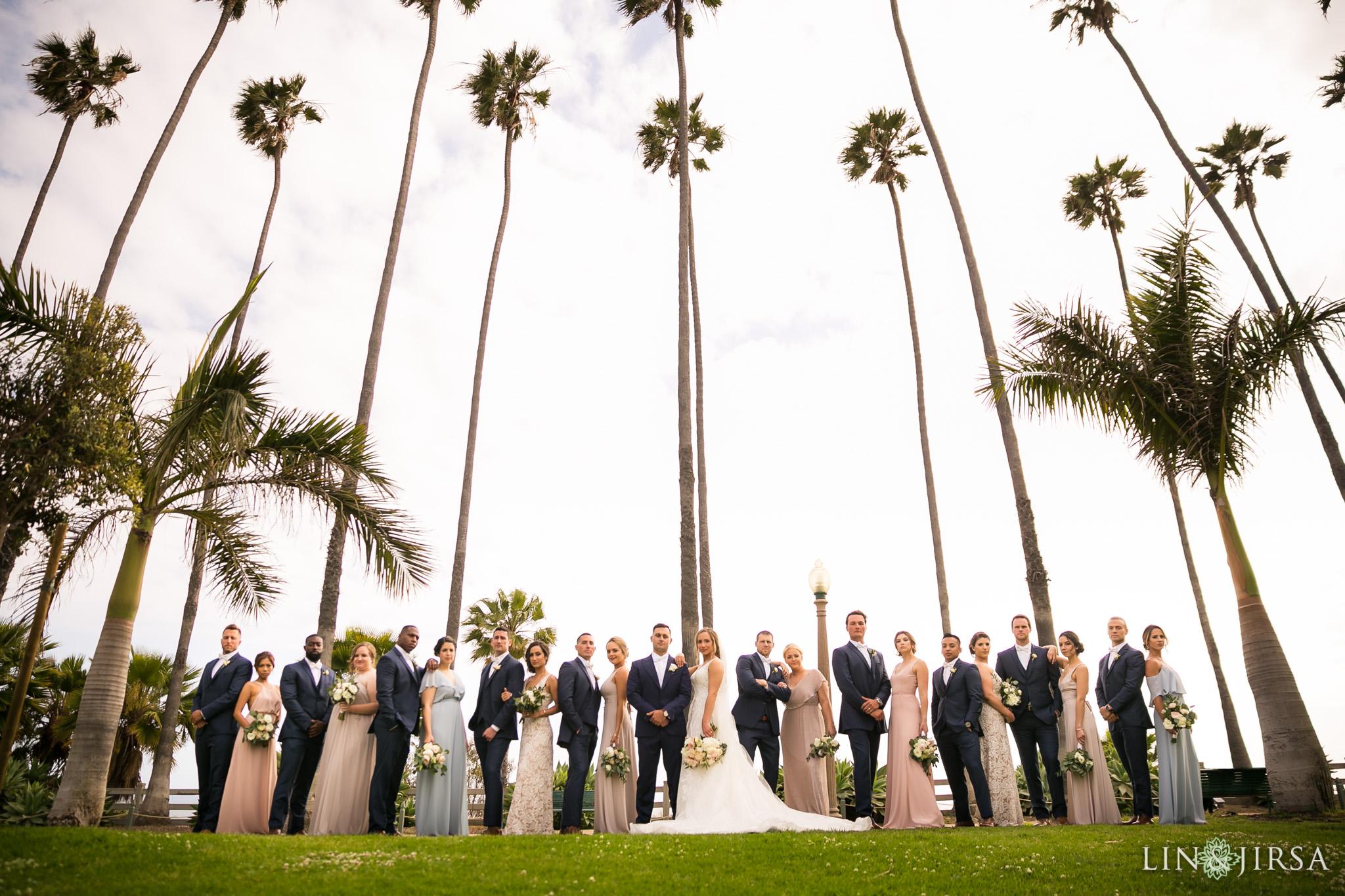 18 casa del mar santa monica wedding party photography