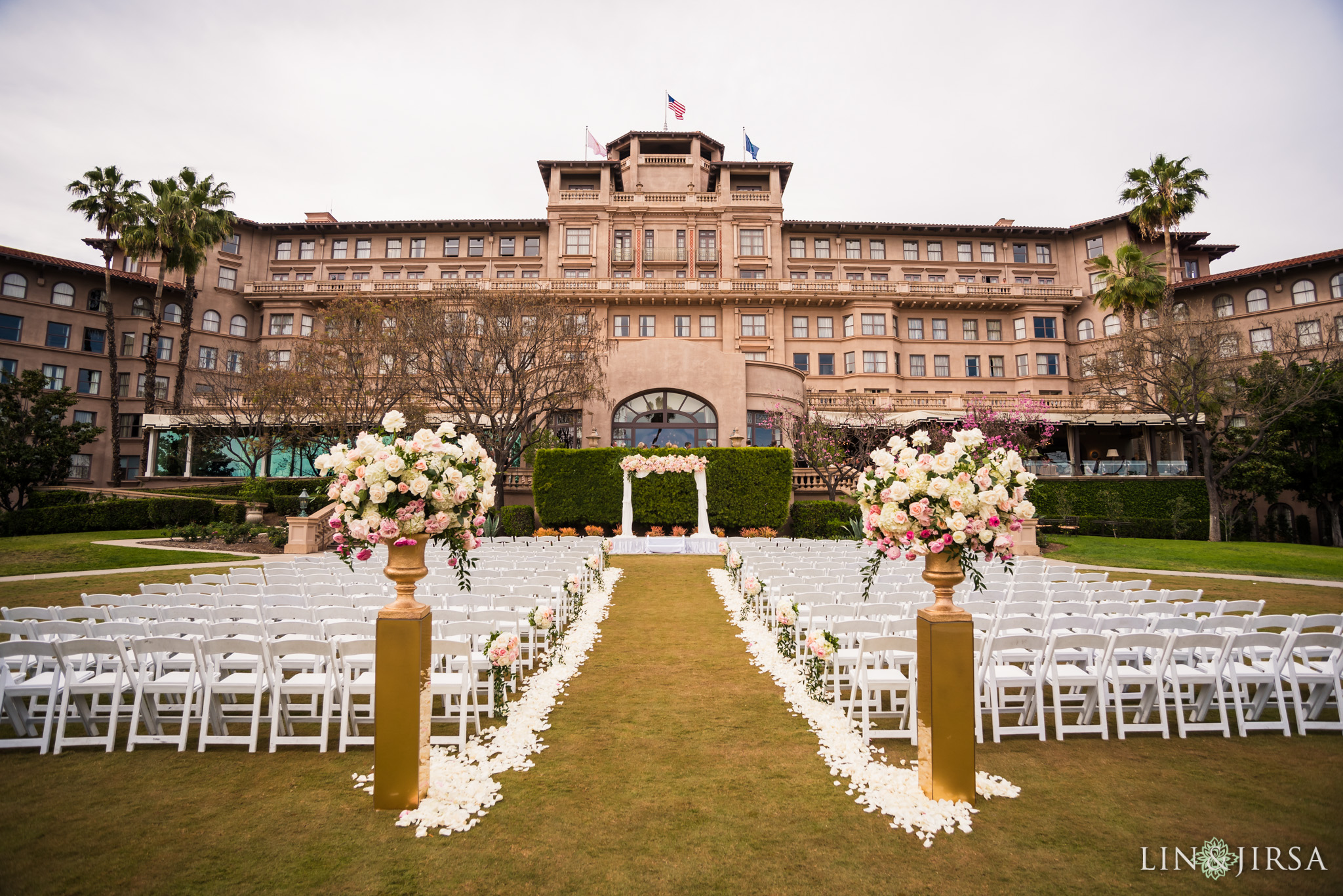 18 langham huntington pasadena wedding ceremony photography