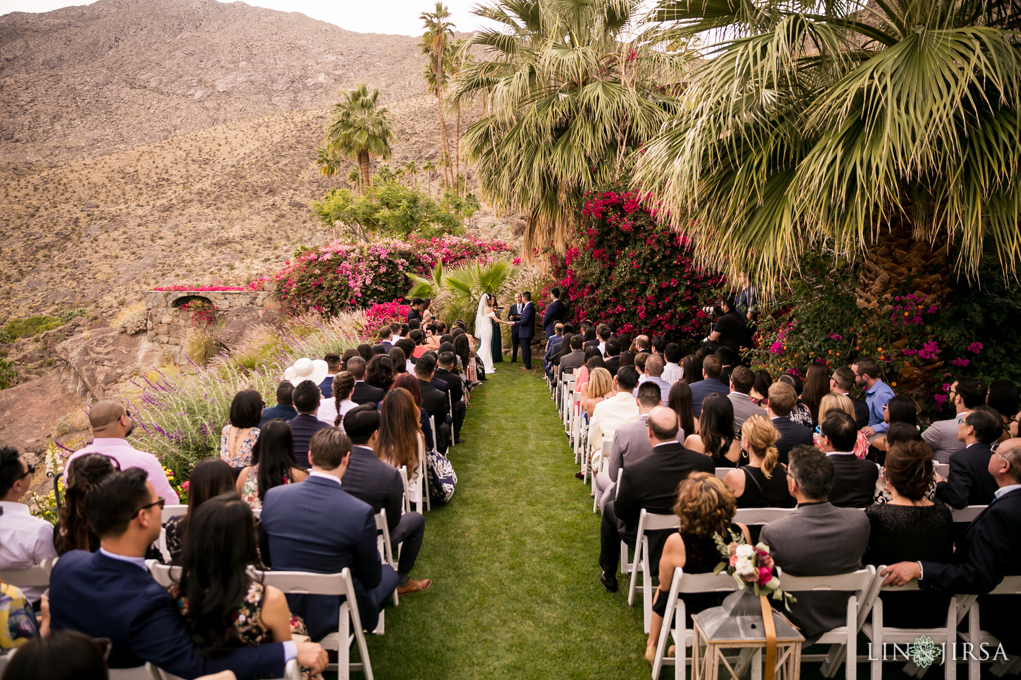 19 odonnell house palm springs wedding ceremony photography