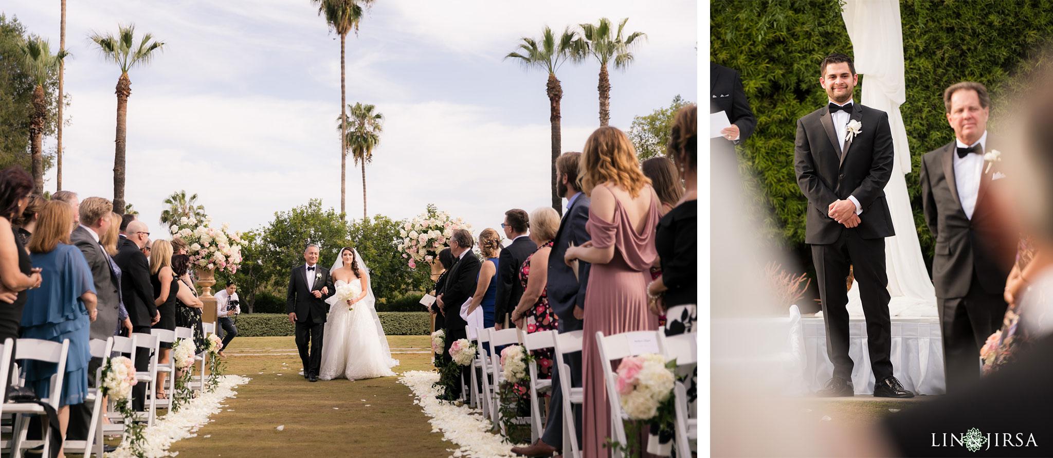 23 langham huntington pasadena wedding ceremony photography