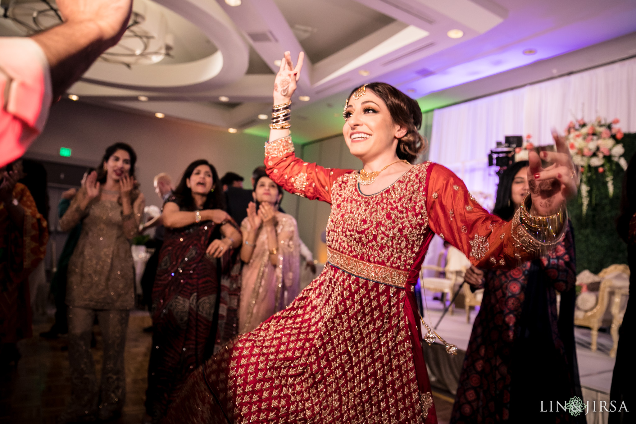 24 hilton long beach pakistani persian muslim wedding mehndi waleema photography