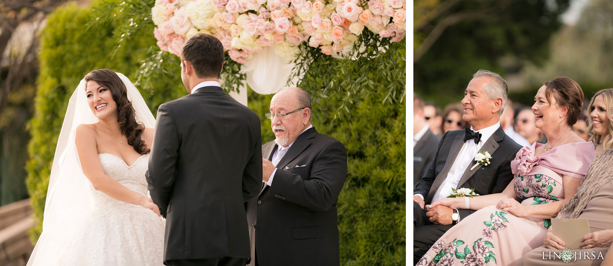 25 langham huntington pasadena wedding ceremony photography