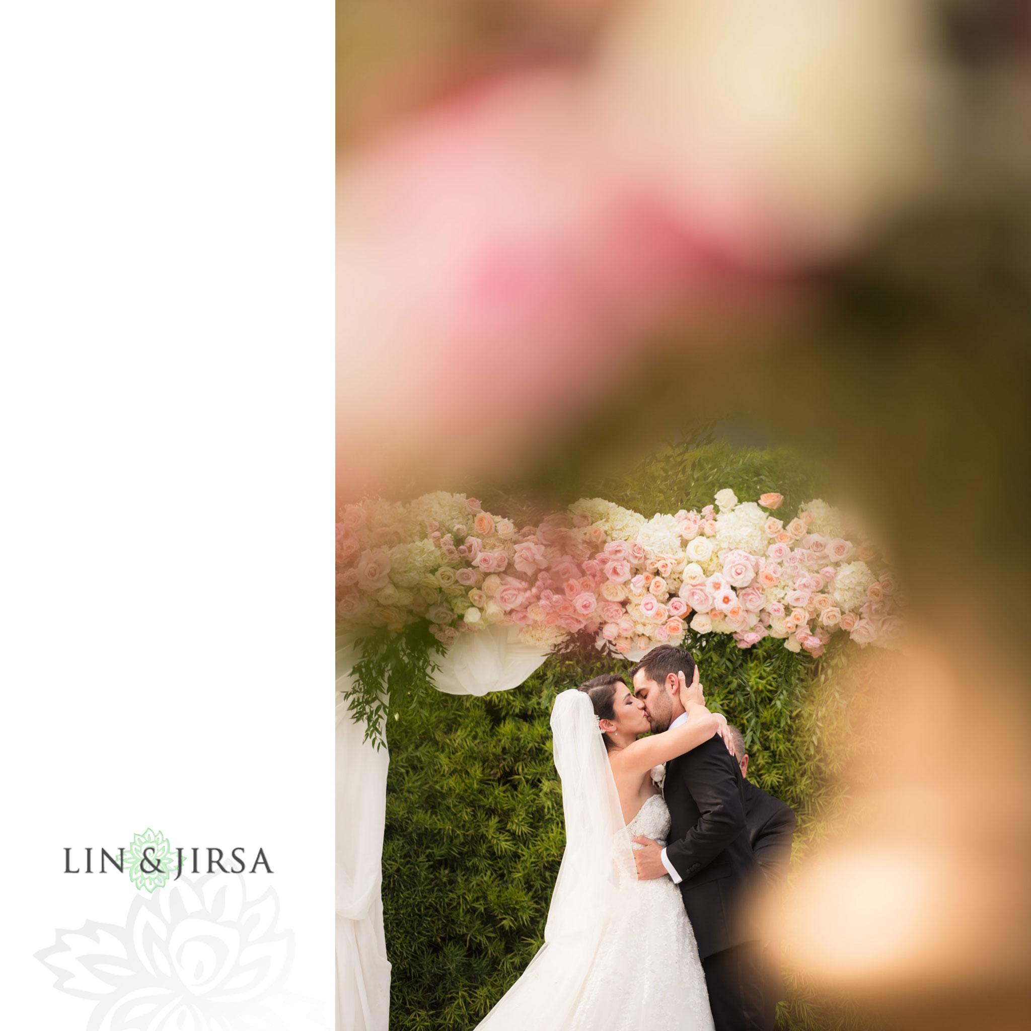 26 langham huntington pasadena wedding ceremony photography