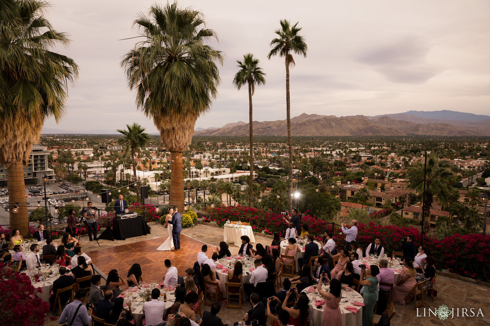 29 odonnell house palm springs wedding reception photography