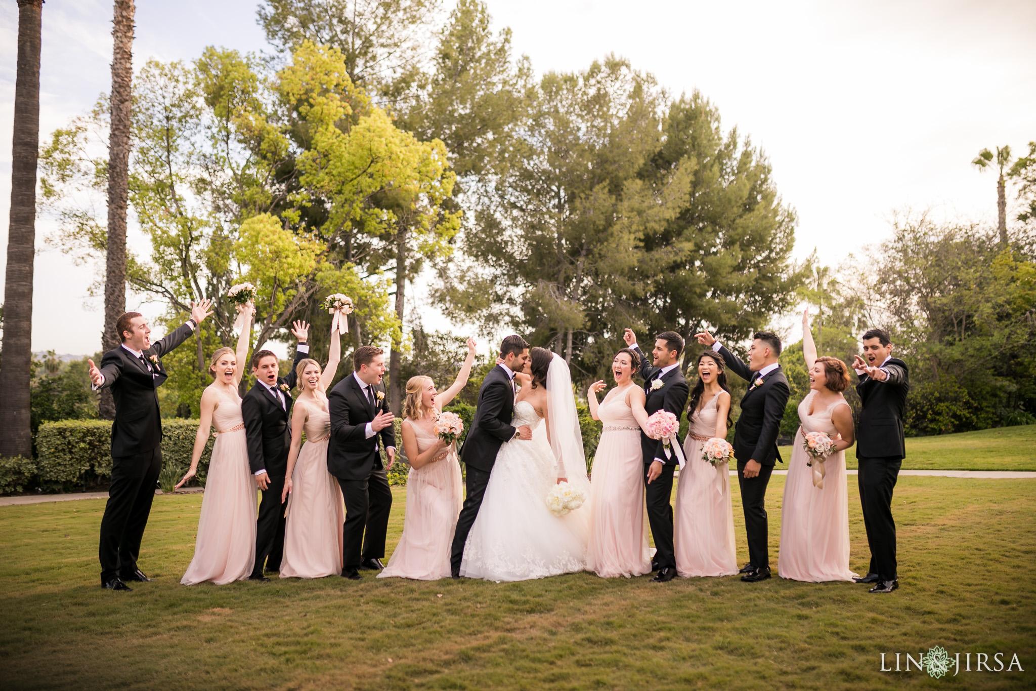 30 langham huntington pasadena wedding party photography