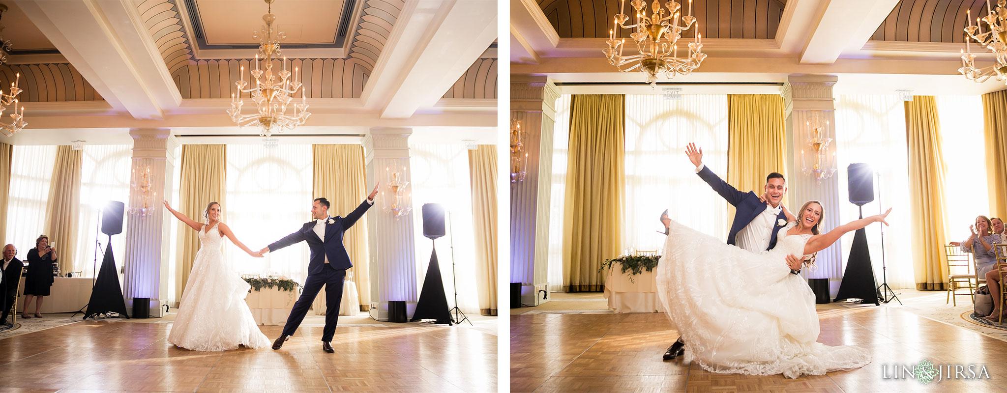 31 casa del mar santa monica wedding reception photography