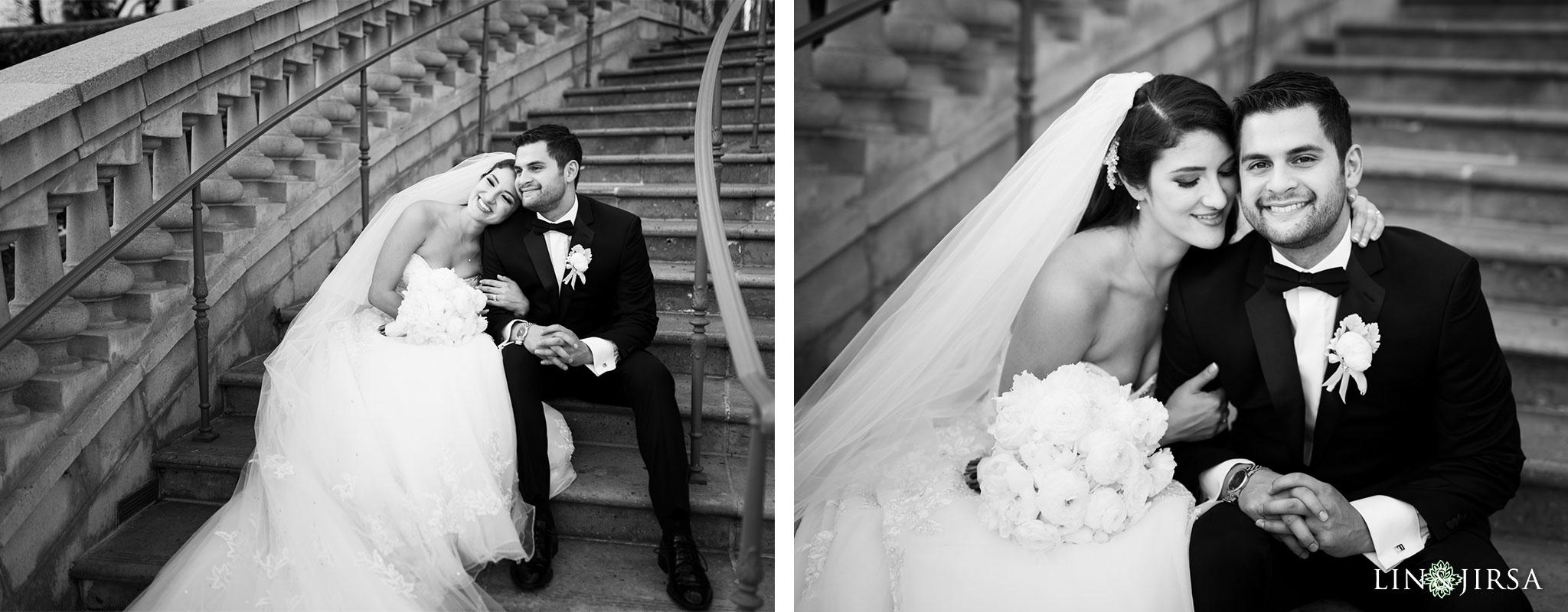 31 langham huntington pasadena wedding couple photography