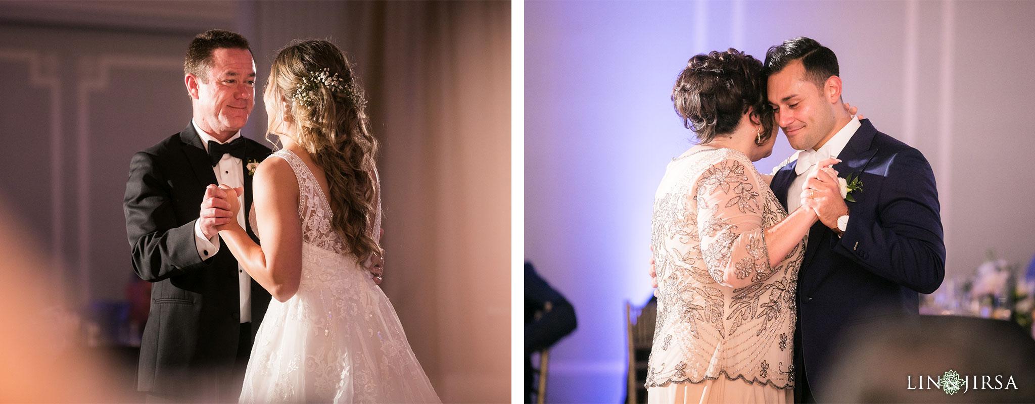 33 casa del mar santa monica wedding reception photography