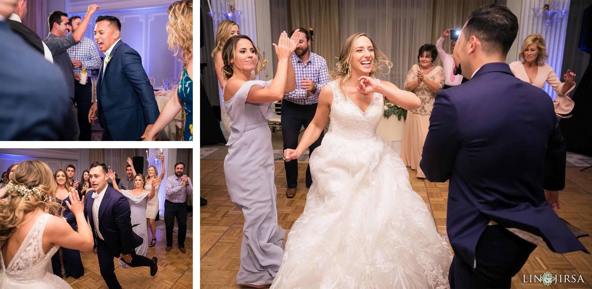 34 casa del mar santa monica wedding reception photography