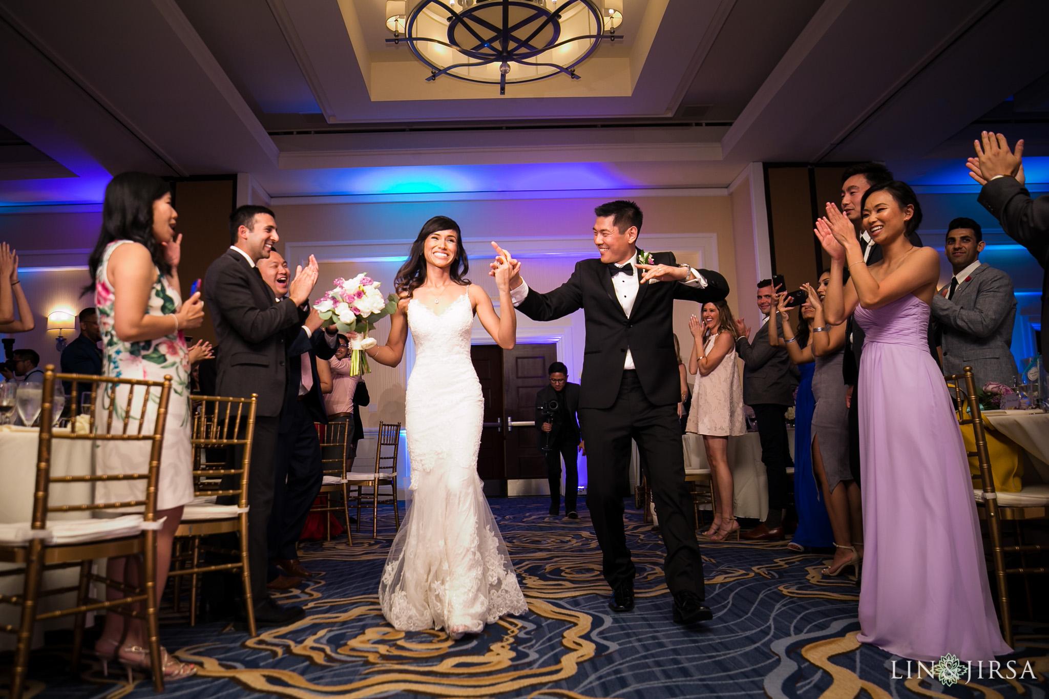 34 laguna cliffs marriott dana point wedding reception photography