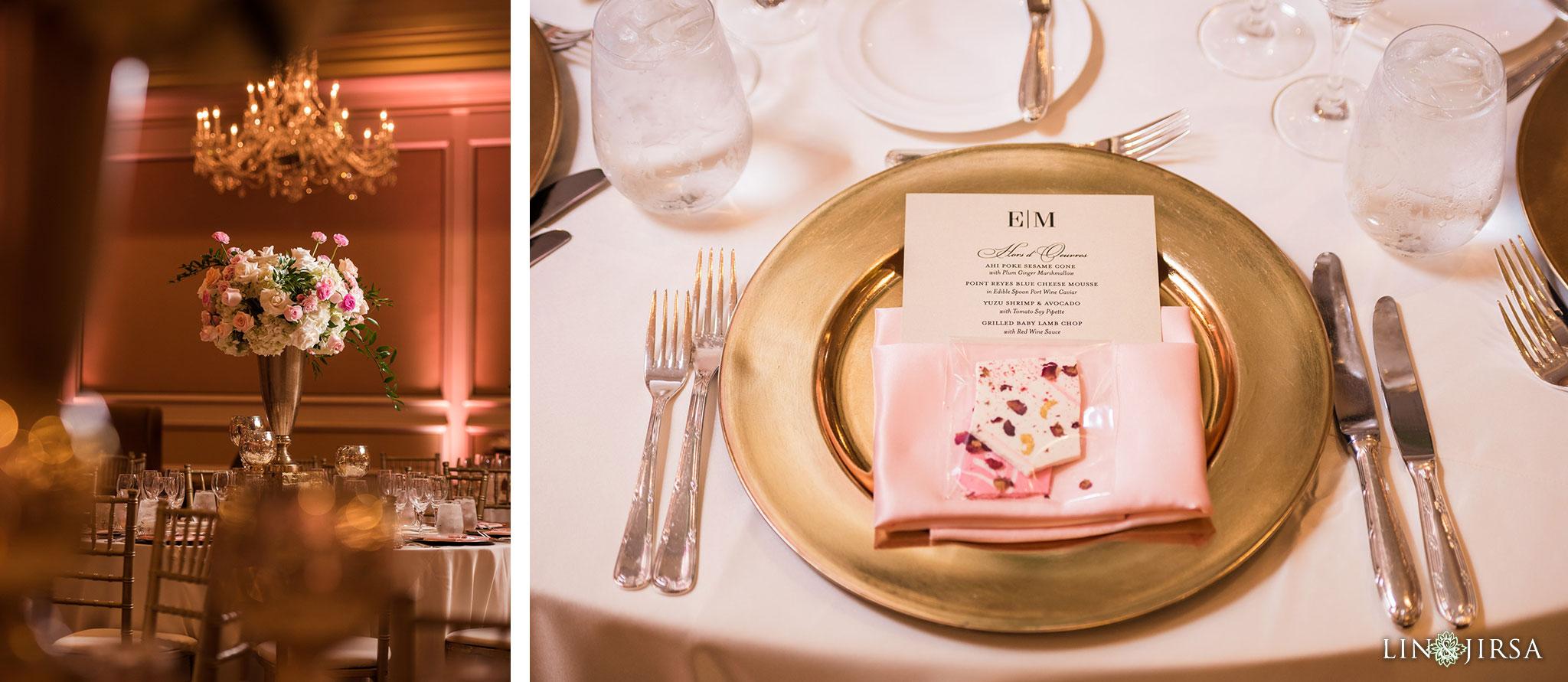 39 langham huntington pasadena wedding reception photography