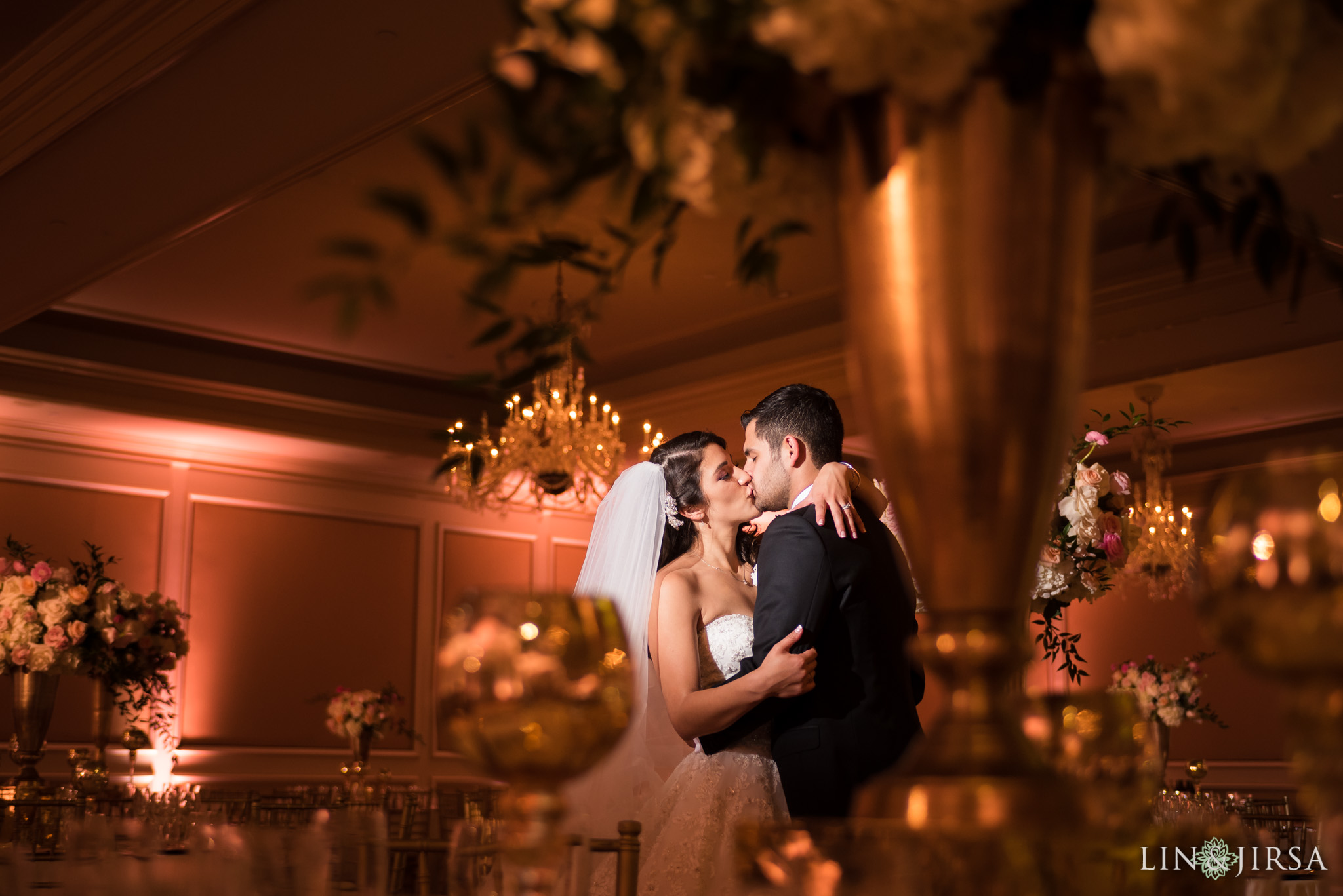 42 langham huntington pasadena wedding reception photography 1
