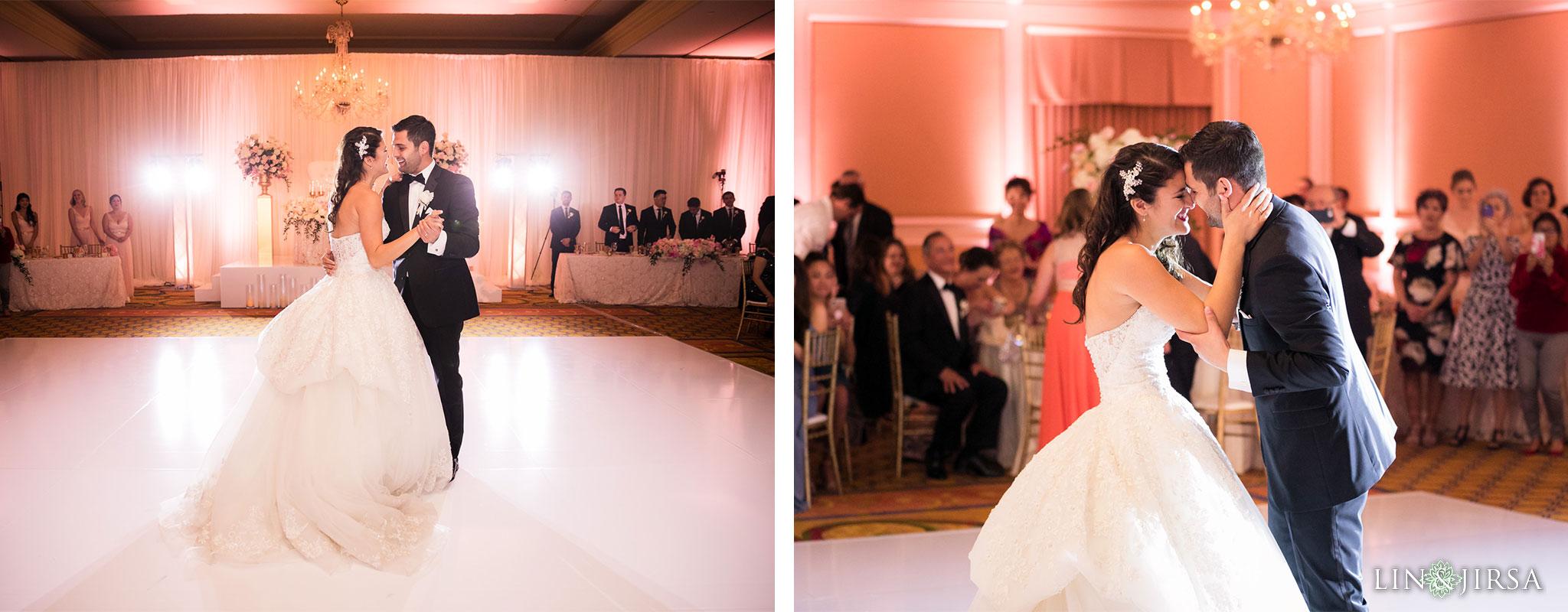 44 langham huntington pasadena wedding reception photography
