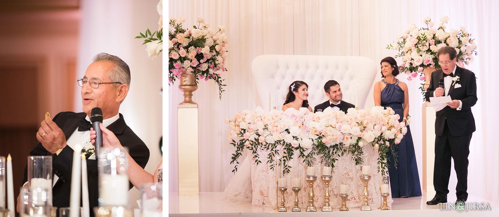 45 langham huntington pasadena wedding reception photography