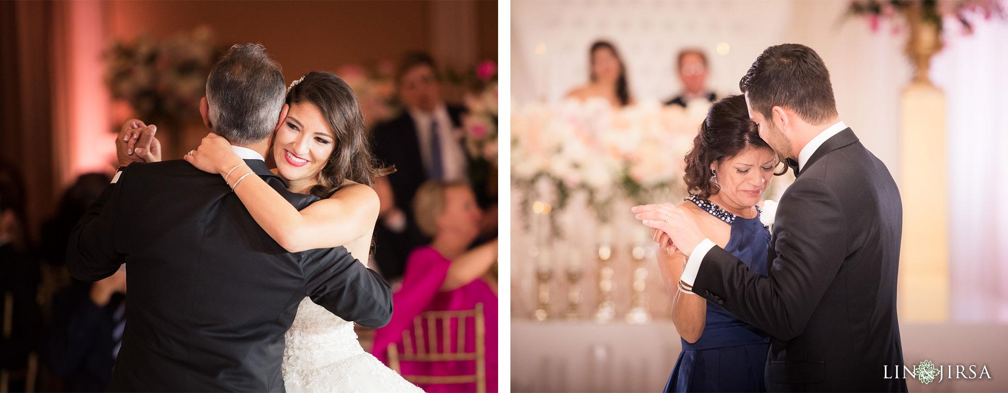 46 langham huntington pasadena wedding reception photography