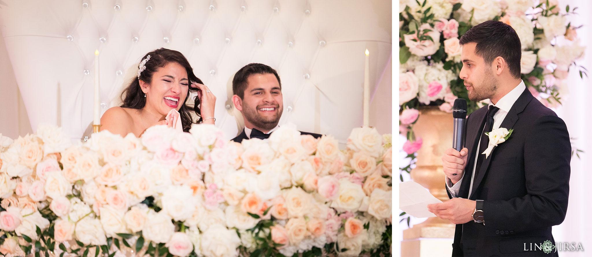 47 langham huntington pasadena wedding reception photography