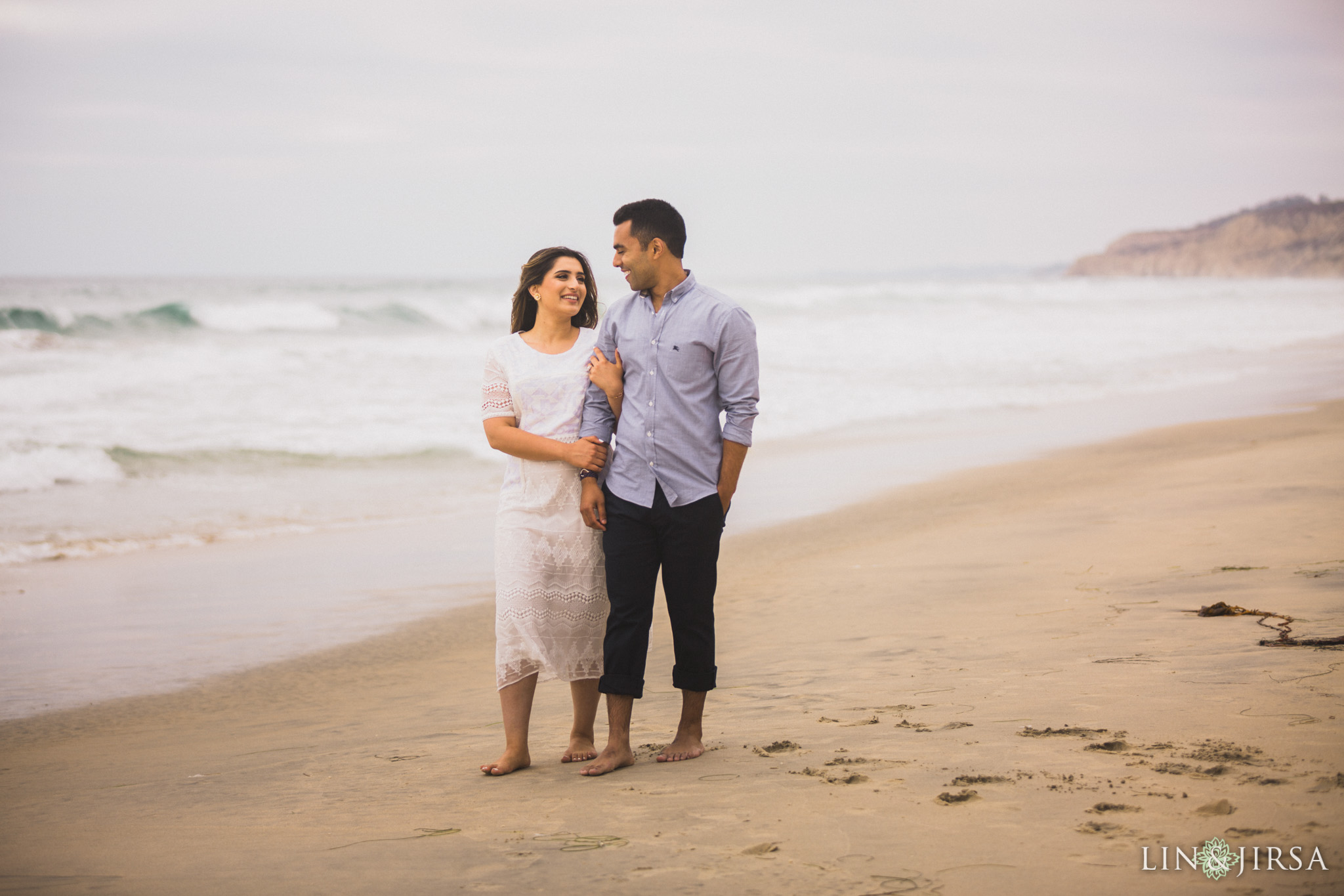 09 san diego beach pakistani engagement photography
