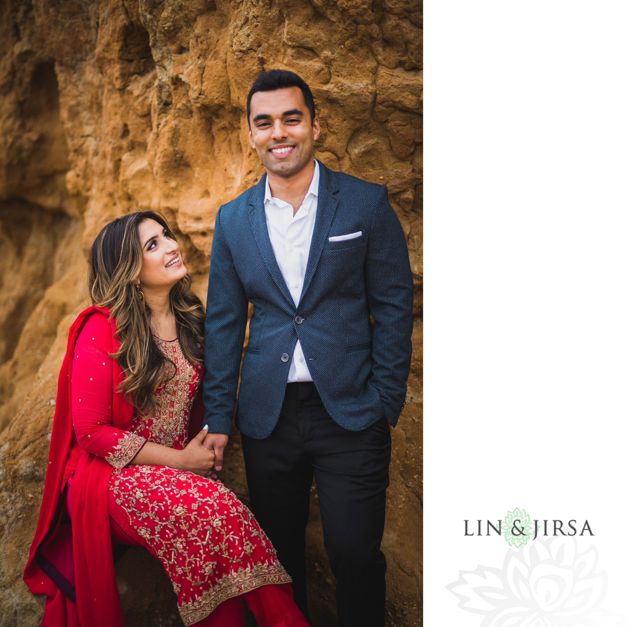 12 san diego beach pakistani engagement photography