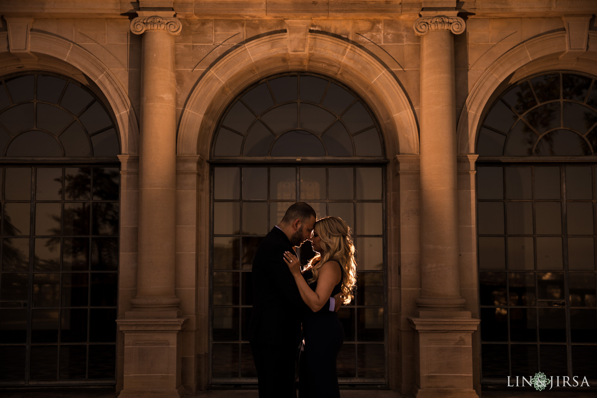 13 greystone mansion los angeles engagement photography