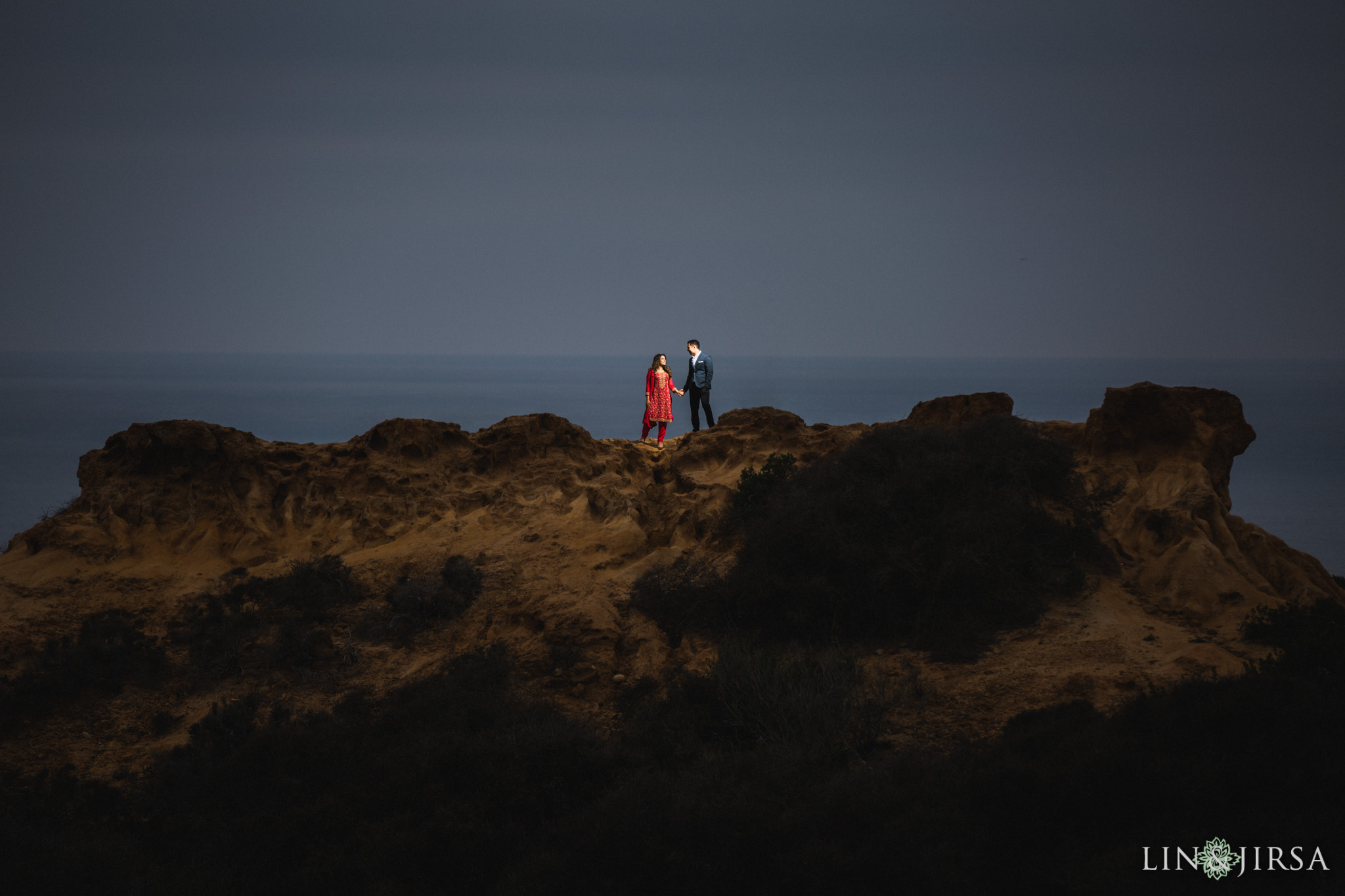 16 san diego beach pakistani engagement photography