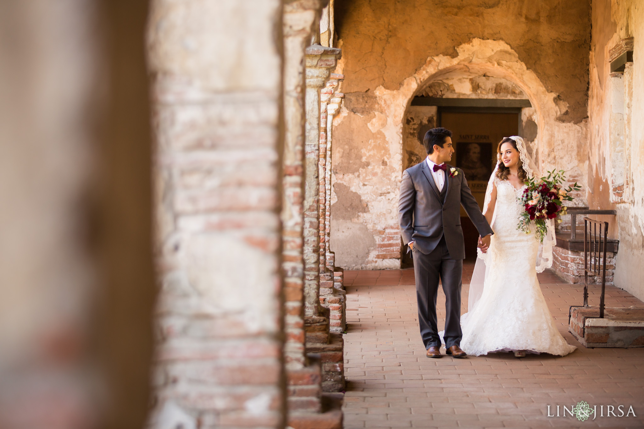 21 mission basilica san juan capistrano wedding photography