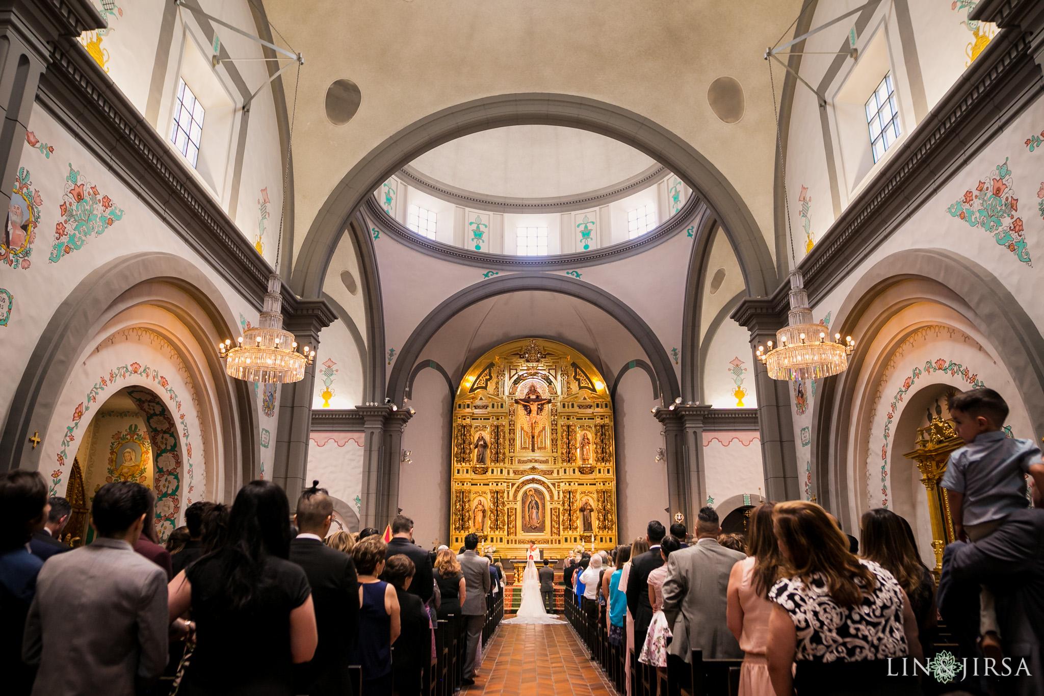 24 mission basilica san juan capistrano wedding ceremony photography