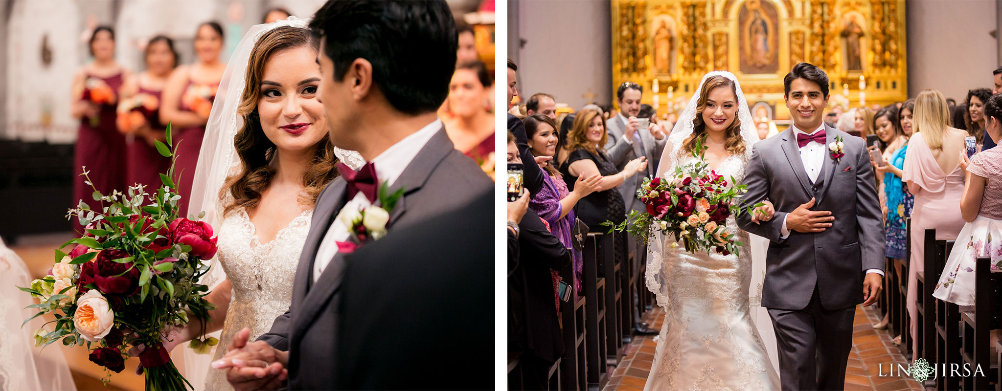 27 mission basilica san juan capistrano wedding ceremony photography