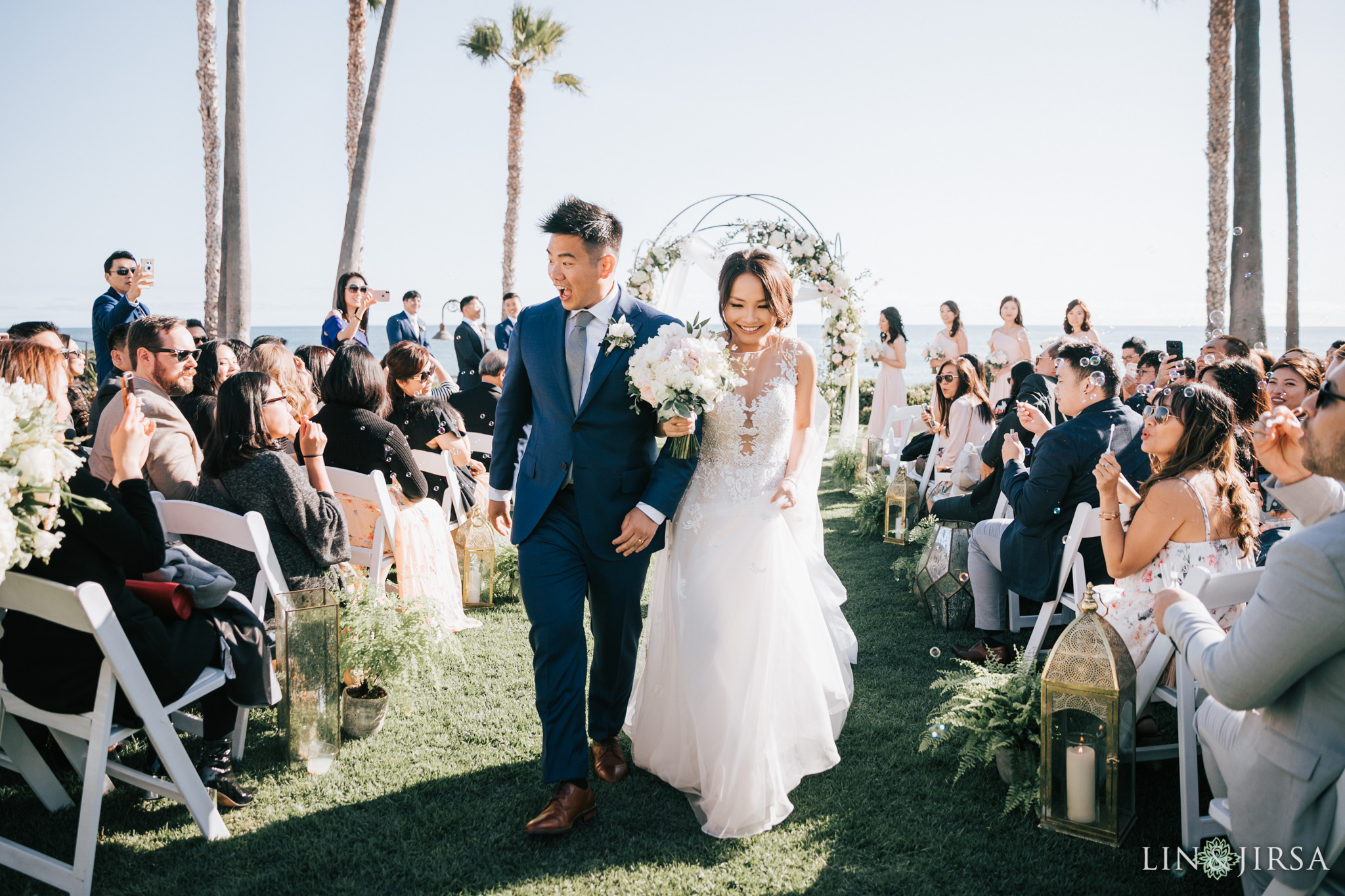 34 ole hanson beach club san clemente wedding ceremony photography